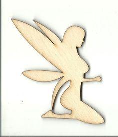 Fairy - Laser Cut Wood Shape MYTH83