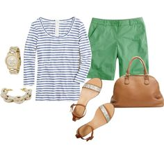 """""""spring green"""" by georgiabelle on Polyvore"""
