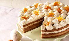 Haselnuss-Karamell-Torte Rezept | Dr.Oetker