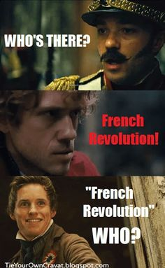 Sink Me!: Les Miserables.... I'm totally abusing a beautiful musical by repining this.