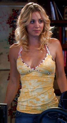 Kaley Cuoco Bare Chest