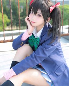 Check out these Japanes theme cosplay characters. Loyal cosplay showing their costumes… it is amazing the costumes that they have come up with. A Weekend of Cosplay At It's Best in Japan! Kawaii Cosplay, Cosplay Anime, Asian Cosplay, Cute Cosplay, Amazing Cosplay, Cosplay Outfits, Best Cosplay, Vocaloid Cosplay, Cute Asian Girls