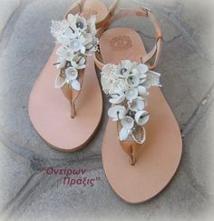 Handmade silk cocoons sandals Ophelia Greek by OneironPraxis