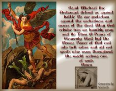 MICHAEL THE ARCHANGEL PRAYER ·