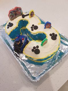 Easy paw patrol cake