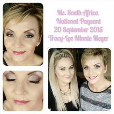 Ms. South Africa National Pageant MC makeup 2015