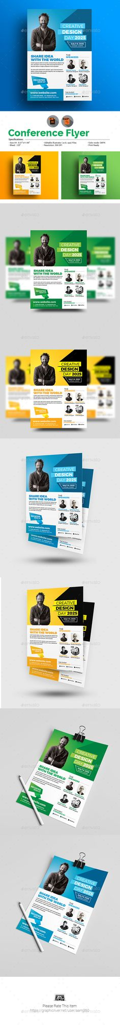 Conference Flyer Template - Corporate Flyers