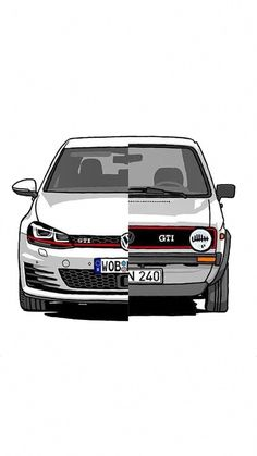 Volkswagen – One Stop Classic Car News & Tips Golf 2 Gti, Golf 6, Volkswagen Golf Mk2, Carros Bmw, Gti Mk7, Vw Cars, Peugeot, Automobile, Dream Cars