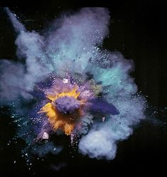 From Nick Knight's explosions photo series.