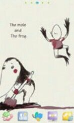 The mole and the frog