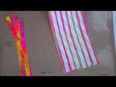 Tutorial: Create Your Own Deli Paper Washi Tape   Art & Whimsy