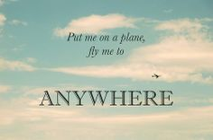 Anywhere! We are making our list already! Can't wait!