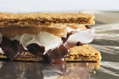 Try adding peanut butter to your next batch of s'mores!