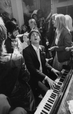 Terry O'Neill, 'Paul Mc Cartney and Ringo Starr at Ringo's wedding to Barbara Bach, London,' 1981, Gallery 270