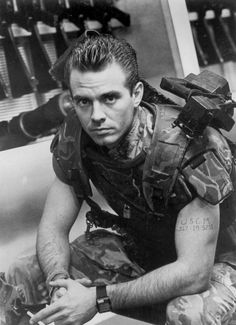 Michael Biehn as Corporal Dwayne Hicks in Aliens (1986)