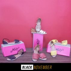 Que tal aproveitar esse climinha de verão com alguma de nossas sandálias???! Corre e aproveita, preço especial!  *Apenas R$ 63,00, lembrando que você pode parcelar em até 4x de R$15,75  #Venhaconferir #Lindooo #Acordoverão #PassoaPassoCalçados #NovemberBlack⚫️😍😚