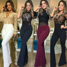 Hot Outfits, Teen Fashion Outfits, Cute Fashion, Classy Outfits, Denim Fashion, Casual Outfits, Womens Fashion, Jumpsuit Hijab, Looks Chic
