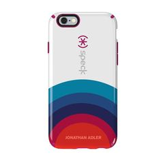 Speck iPhone 6/6s Plus CandyShell Inked Johnathan Adler Case - Sunrise/Lipstick Glossy