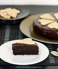 Healthy chocolate cake - am definitely going to try this! Really need something yummy right now!