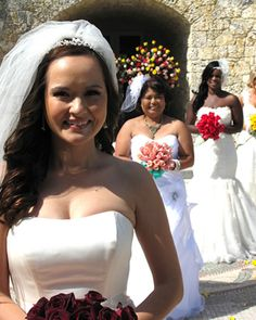 TLC Four Weddings bride gives wedding planning tips - Under $10k for everything.
