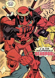 The Insufferable Deadpool by Scott Koblish