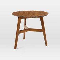 Mid Century Bistro Table   Auburn