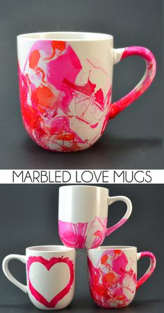 Marbled Coffee Mugs - Love Mugs! - Dream a Little Bigger