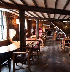 The Hinds Head in Bray, owned by Heston Blumenthal and Michelin Pub of the Year 2011. Enjoyed a good lunch here a few years ago. Sounds like it's worth a re-visit.