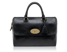 Del Rey, Black Soft Spongy, Mulberry bag