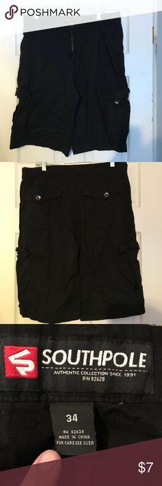 Men's black shorts Size 34 South Pole South Pole Shorts Cargo