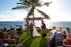 Sugarman Estate, Makena Maui Wedding / Mike Sidney Photography