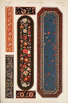 Jones, Owen, 1809-1874. / The grammar of ornament  (1910)  Indian ornament