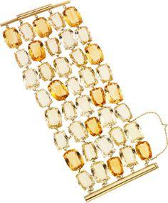 Citrine, Gold Bracelet, H. Stern.