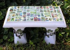class auction project-tile garden bench School Auction Projects, Class Art Projects, Collaborative Art Projects, Classroom Art Projects, Preschool Projects, Art Classroom, Group Projects, Legacy Projects, School Fundraisers