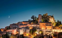 Eze, France. Amazing little town on a mountain...charming & romantic :))
