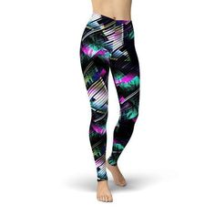 ALL-DAY COMFORTThe Handmade Women's Abstract Arrows Leggings feature an all-over design on butter soft fabric for lasting comfort.BENEFITS High waistband offers a comfortable fit True to size fit FABRIC DETAILS Fabric: 92% double brushed polyester/ 8% spandex Machine wash cold and warm Made in Philadelphia Size Chart