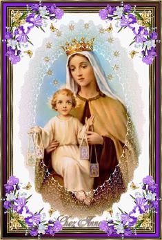 Prière à Notre-Dame du Mont Carmel