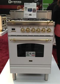 white with chrome and brass, what a beauty from Italy
