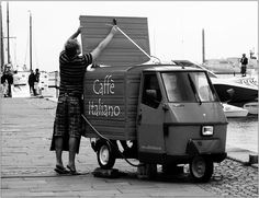mobile coffee.  in a good world, these would be everywhere.