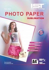 Papier do sublimacji IST A4 100 gr – 100 szt