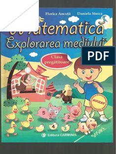 Carte Educativa Pentru Prescolari Activitati Matematice 5 7 Ani Document, School Lessons, Kindergarten Worksheets, Preschool, Knowledge, Activities, Education, Geo, Gabriel