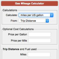 15 Best Fuel Economy Calculator images in 2012 | Free apps