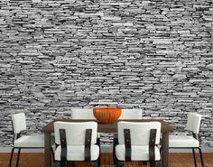 Photo Wall Mural ARIZONA STONEWALL 400x280 Wallpaper Art Decoration Stones Grey