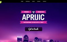 60  Creative One Page Website Designs for Your Inspiration