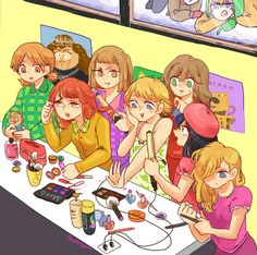 South Park girls ~ just wanna have fun
