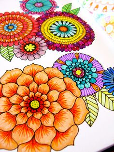 Doodle7.jpg - some of the doodles in the back could be used for crochet patterns/colors