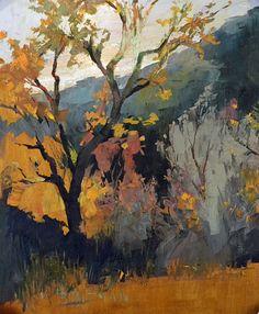 Andy Braitman - Watcher's Wood Study 24X18