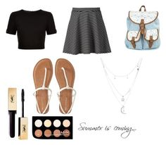 """""""Untitled #5"""" by rosiefashions on Polyvore featuring Ted Baker, Apt. 9, Aéropostale, Charlotte Russe and NYX"""