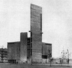 Brutalism, st-johannes-baptist-karlsruhe-durlach-germany