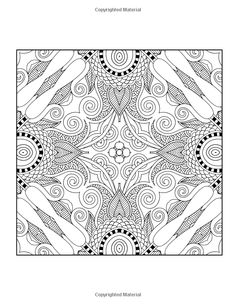 Amazon Advanced Mandalas Beautiful Patterns Designs Coloring Book For Adults